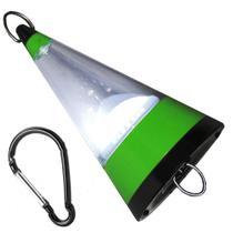 Lanterna Lampião Camping de Pendurar a Pilhas 12 LEDs WMTLL80091 Verde -