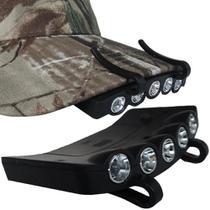 Lanterna led parabone de cabeca clip on acampamento emergencia capacete seguranca - Makeda