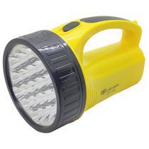 Lanterna Led Recarregável bivolt Luz Holofote Com 19 Leds e Alça - DP