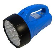 Lanterna Luminária Holofote 16 + 23 Leds Recarregável 312lm - Dpled Light