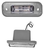 Lanterna Luz da Placa LED - Caio/MBB/Marcopolo/Busscar - Cristal - Silo