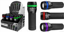 Lanterna Mini Cor A Pilha Albatroz 3 W Com Zoom 12 Unidades - Albatroz fishing