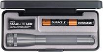 Lanterna mini maglite led prata luxo 2aa - cód. sp22097j -