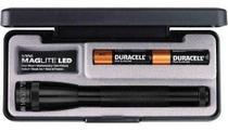 Lanterna Mini Maglite Preta Led 2aa - Cód. Sp22017 Mag Lite -