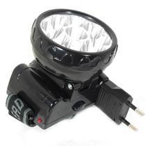 Lanterna Para Cabeça 9 Led Regarregável - Noll