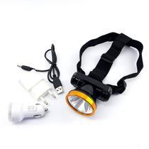 lanterna para caça de cabeça led ultra recarregavel - Import