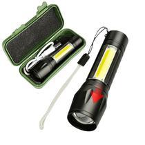 Lanterna potente e recarregavel tatica - MADE BASICS