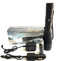 Lanterna Profissional Tática Led 880000w Recarregável - Caaerus
