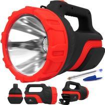 Lanterna Recarregável Holofote Albatroz 7077 5 w kit Combo c/ 2 unidades Longo Alcance Alta Potência - Albatroz Fishing