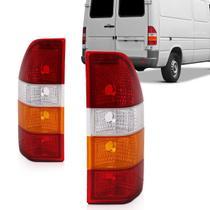 Lanterna Sprinter 97 98 99 2000 2001 2002 Tricolor Acrílico -