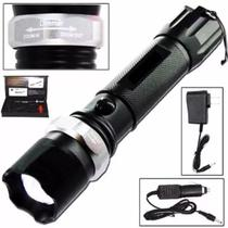 Lanterna Tática Led Cree Q5 500w Bateria Recarregável - Portexx