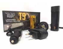 Lanterna Tática Led Cree T9 Recarregável Policial Jyx C/zoom -