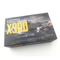 Lanterna Tática Led T6 Longo alcance X900 2 carregadores - Wincabos