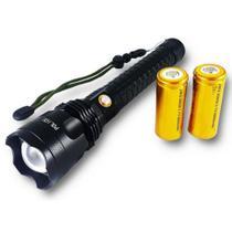 Lanterna Tática Led T9 Super Potente 2 Baterias 26650 Jyx - Jws