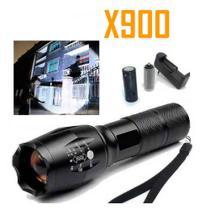 Lanterna Tática Militar Recarregável X900 - Shadowhawk