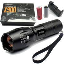 Lanterna tatica militar x900 led -