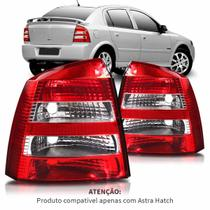 Lanterna Traseira Astra Hatch 2003 A 2012 Bicolor Cristal - Automotive imports