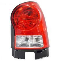 Lanterna Traseira Bicolor Carcaça Preta Gol G4 2005 até 2014 - Fitam
