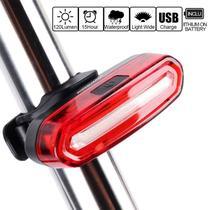 Lanterna Traseira Bike LED 6 Modos recarregável Prova DÁgua - GaleraDaBike