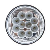 Lanterna traseira Carreta Randon 10 leds Branco - Pradolux -