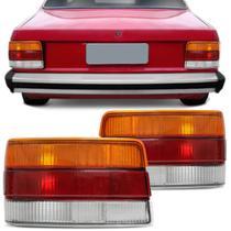 Lanterna Traseira Chevette 1986 1987 1988 1989 1990 1991 1992 1993 Tricolor - Cofran Lanternas