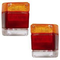 Lanterna Traseira Chevy Marajo 83 A 94 Lado Esquerdo Ambâr - Jcv