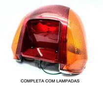 Lanterna Traseira Completa C Lâmpada Honda Biz 100 Pop 100 - Estamparia Paulista