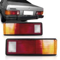 Lanterna traseira corcel 1980 a 1985 tricolor estilizada - JCV