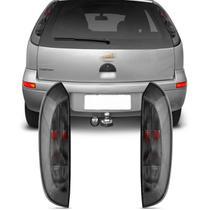 Lanterna Traseira Corsa Hatch 2003 2004 2005 2006 2007 2008 2009 2010 2011 2012 Fumê - IMP