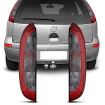 Lanterna Traseira Corsa Hatch 2003 2004 2005 2006 2007 2008 2009 2010 2011 2012 Vermelho Fumê - Prime