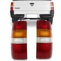 Lanterna traseira courier 1997 a 2011 tricolor - Imola