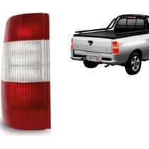 Lanterna Traseira Courier 96 A 13 AcrÍLico Bicolor Esquerdo -