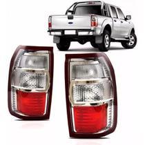 Lanterna Traseira Cristal Ford Ranger 2009/2012 Esquerda - Fitam
