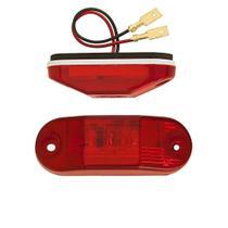 Lanterna Traseira Delimitadora Teto LED VM 24V  Busscar / Induscar / Mascarello  - Silo -