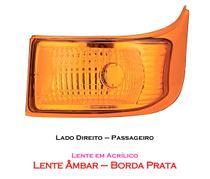 Lanterna Traseira Direcional  - Lado Direito - Ônibus Marcopolo G6 - Silo