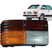 Lanterna Traseira Fiat 147 79 A 82 PlÁStico Tricolor Le -