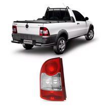 Lanterna Traseira Fiat Strada 2008 2009 2010 2011 2012 2013 Canto Rubi - Jcv