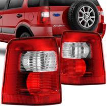 Lanterna Traseira Ford Ecosport 2003 a 2007 Bicolor Lado Direito 31174D - Fitam