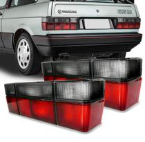 Lanterna Traseira Gol 1987 á 1997 Fumê (par) - Jvc