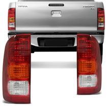 Lanterna Traseira Hilux SR SRV 2005 2006 2007 2008 2009 2010 2011 Tricolor - Prime
