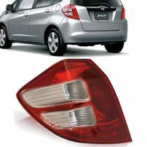 Lanterna Traseira Honda New Fit Bicolor 2009 2010 2011 2012 2013 2014 - Esquerdo - Cbc