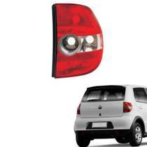 Lanterna traseira  lente acrílico vw fox 2004/.... lado esquerdo motorista -
