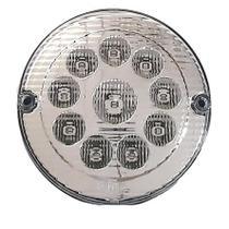 Lanterna Traseira Luz de Ré LED CR 12V  Ø155mm - Ônibus / Caminhão - Silo