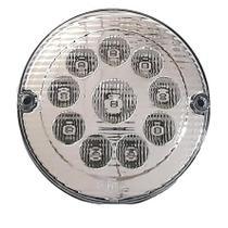 Lanterna Traseira Luz de Ré LED CR 24V  Ø155mm - Ônibus / Caminhão - Silo