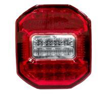 Lanterna Traseira Marmita Ford Cargo Vw Constellation Troller Jeep LED Bivolt Sem Vigia LD - Braslux