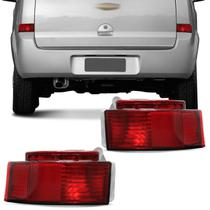 Lanterna Traseira Meriva 03 04 05 06 07 08 09 10 11 12 Neblina Refletor com Encaixe Lampada - Jcv