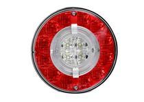 Lanterna Traseira Modulo Facchini Braspoint 6 VI Posicao Freio Re LED Bivolt Guia de Luz - Aspock