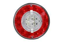 Lanterna Traseira Modulo Facchini Braspoint IV 4 Posicao Freio Pisca LED Bivolt Guia de Luz - Aspock
