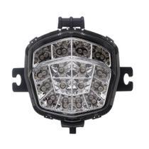 Lanterna Traseira Moto X Led Piscas Laterais Integrado Cristal Bandit 10... -