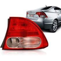 Lanterna Traseira New Civic 07 08 A 11 Bicolor AcrÍLico Ld -